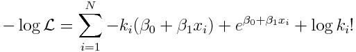 log_link_pois_neg_log_likelihood